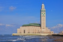 Hassan II Mosque in Casablanca.