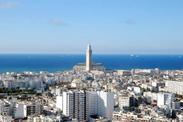 "Casablanca the ""White City""."